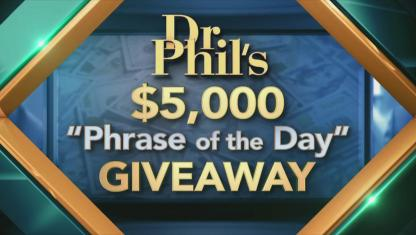 Phrase of the day giveaway