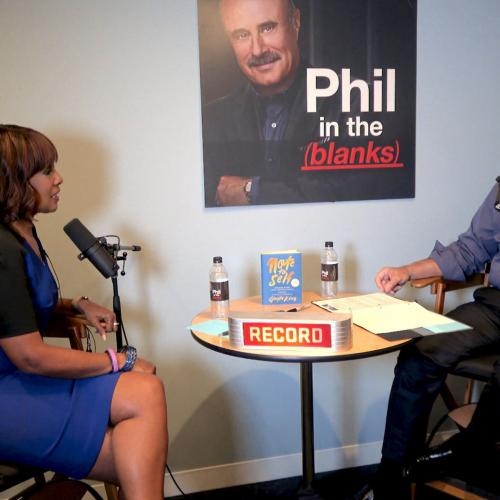 Gayle King and Dr. Phil