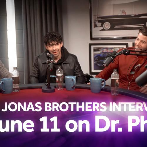 The Jonas Brothers on Phil in the Blanks podcast