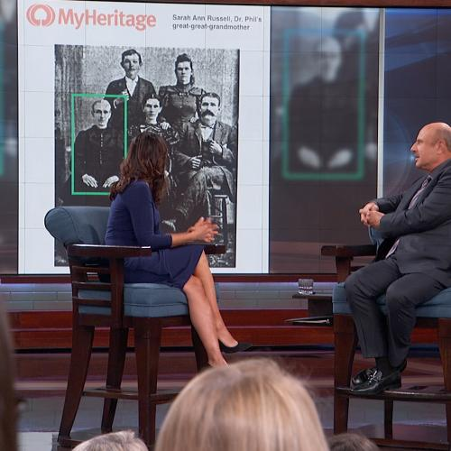 Dr. Phil 'Amazed' With Results Of Family History Search From MyHeritage