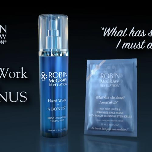 Hard Work = A Bonus At Robin McGraw Revelation