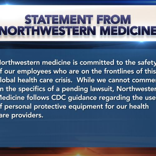 Statement from Northwestern Medicine