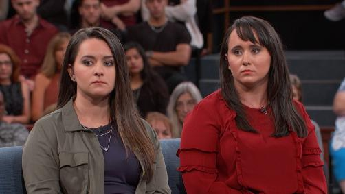 Sisters on Dr. Phil's stage