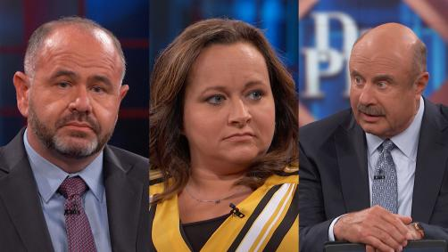 Man, woman and Dr. Phil