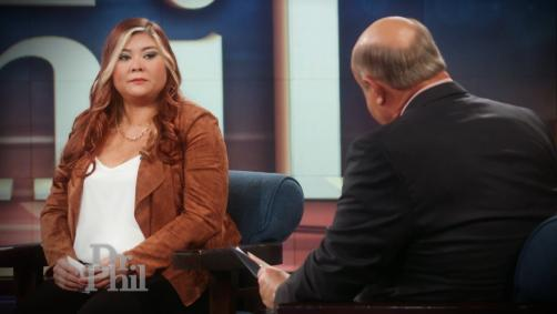 Dr. Phil Confronts Guest About Aggressive Boyfriend: 'Do You Believe That's The Best You Can Do?'