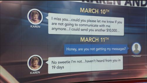 Woman Says Mom's Alleged 'Catfish' Took 'Longer And Longer' To Text After She Stopped Sending Money