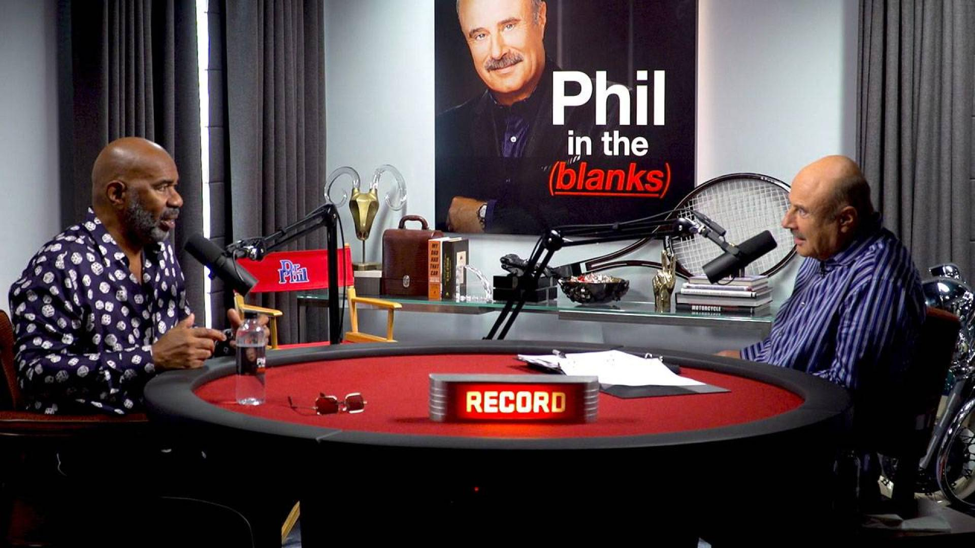 Dr  Phil's Podcast 'Phil In The Blanks' Launches Today!